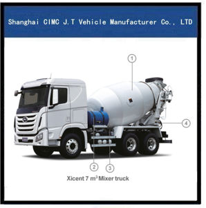 Hyundai 6X4 Mixer Truck with 7-12 M Tank pictures & photos