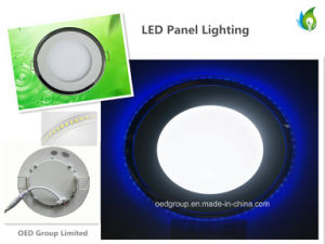 Bi-Color LED Panel Light with Two Colors LED Panel Lighting Blue and White pictures & photos