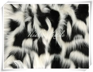 Jacquard Fake Fur with Long Pile pictures & photos