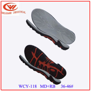 Summer New Fashion Men Sandals Sole Fashion EVA Rb Audlt Outsole for Making Flip Flop pictures & photos