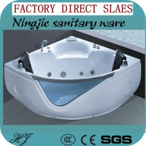 Foshan Ningjie Sanitary Ware Factory Outlet Acrylic Bathtub (510) pictures & photos