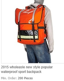 New Style Popular Waterproof Sport Backpack