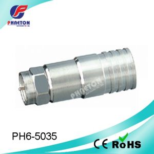 Rg11 Crimp RF Connector for Coaxial Cable (pH6-5035) pictures & photos