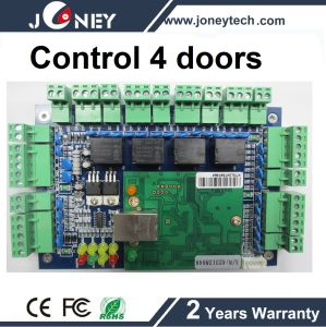 TCP/IP RS232/485 Wiegand 4 Door Access Control Board Access Control System pictures & photos