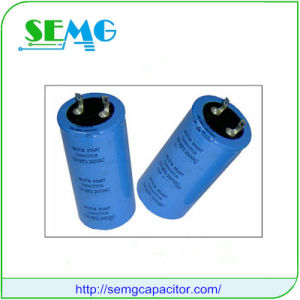 6800UF 400V Aluminum Electrolytic Motor Starting Capacitor pictures & photos