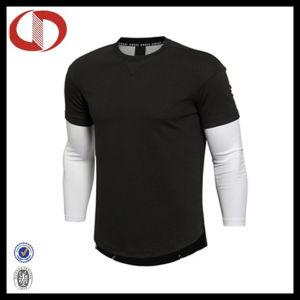 China long sleeve custom made latest sports t shirt design for Custom made sport shirts
