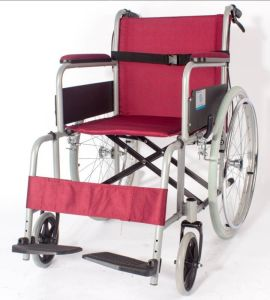Pl-806D Manual 2.0mm Perfect Aluminum Alloy Chair Frame Wheel Chairs pictures & photos