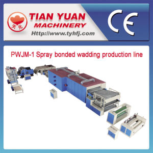 Nonwoven Chemical Bonded Wadding Production Line (PWJM-1) pictures & photos