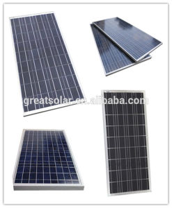 Cheap Price! ! ! 120W Polycrystalline Solar Panel for Residental and Commerical Application pictures & photos