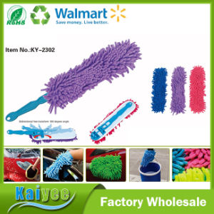 Car Cleansing Triangle Washable Chenille Brush for Washing Trucks pictures & photos