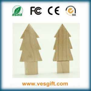 Christmas Gift Cute Characters Wooden USB Flash Stick pictures & photos