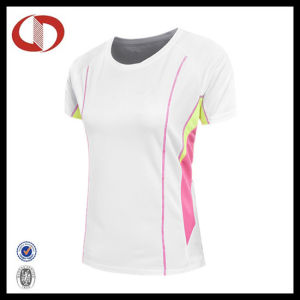 2016 New Style Custom Women Running Wear Running T Shirts pictures & photos
