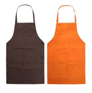 Adult Multi-Color Advertising Apron with Customer Color
