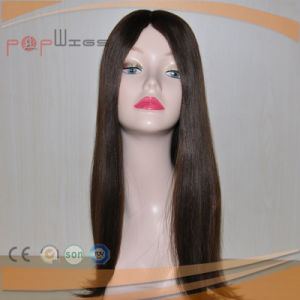 Top Quality Best Selling Silk Top Wefted White Silky Skin Top Jewish Wig pictures & photos
