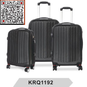 ABS 3PCS Hard Shell Travel Trolley Luggage Bag pictures & photos