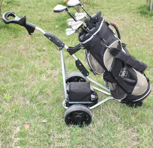 Battery Powered Golf Trolley with 3 Wheel (DG12150-D) pictures & photos