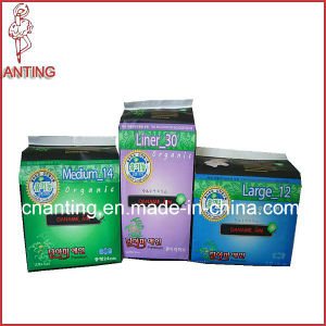 Organic Sanitary Napkin, Cotton Sanitary Pads, Breathable Sleepy Chips pictures & photos
