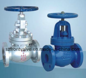 Cast Steel and Cast Iron Bellow Sealed Globe Valves pictures & photos