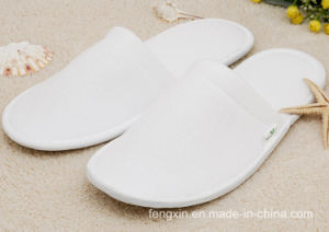 High Quality Soft White Disposable Slipper pictures & photos