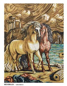 Horse Painting Art Hand-Made Mosaic Picture Mosaic Tile pictures & photos