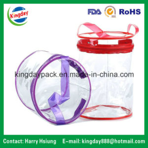 Different Shapes PVC Bag with Zipper and Handles