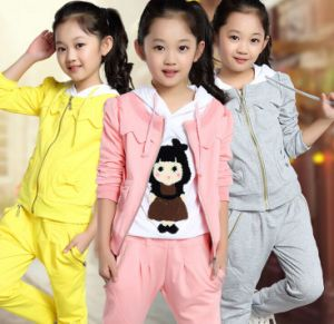 2015 New Style Autumn Children Clothing Sets pictures & photos