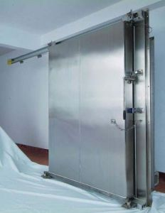 Stainless Steel Manual/Automatic Sliding Door pictures & photos