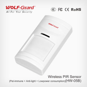 Pet Immunity Wired Wide Angle PIR Motion Sensor, Intrusion Alarm Homsecur Intruder Burglar Alarm pictures & photos