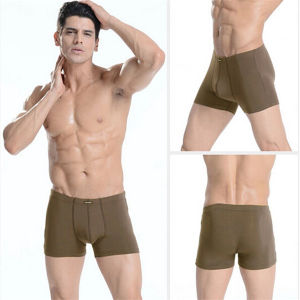 New Brand Comfortable Sexy Mens Sports Boxer Briefs Underwear pictures & photos
