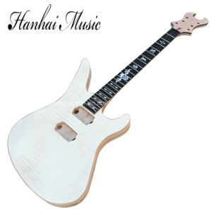 Hanhai Music / Synyster Electric Guitar Kit with Flame Maple Body / DIY Guitar pictures & photos