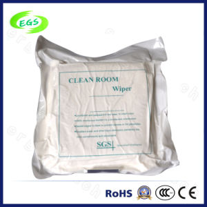 "4"", 6"", 9"" Super Soft Microfiber Cleanroom Wiper (EGS-1105) pictures & photos"