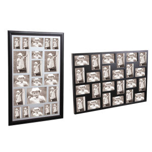 Wooden Collage Photo Frame in Black Color pictures & photos