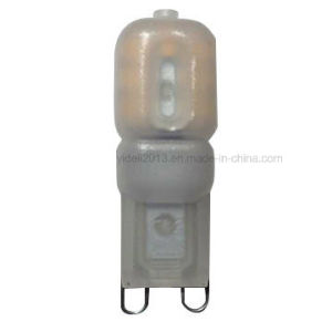 AC220-240V 2.5W 210lm 360° , Plastic Body EMC and LVD Approved LED G9 Lights pictures & photos