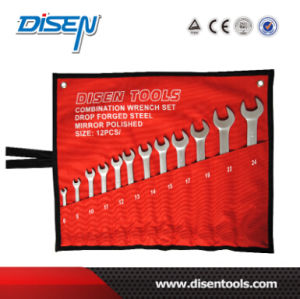 ANSI 6PS (6-17mm) Canvas Pouch Packed Box End Wrench pictures & photos
