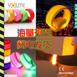 LED Slap Wrap, LED Bracelet, LED Running Armband, LED Sports Slap Wrap pictures & photos