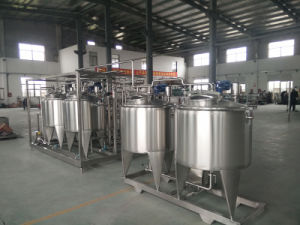 Full Automatic Small Scale Small Scale 200L/H Combined Ice Cream Processing Line pictures & photos