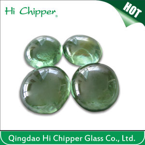 Light Green Glass Gemstone Fire Pit pictures & photos