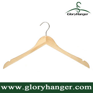 Natural Wood Suit Hangers (GLW600) pictures & photos