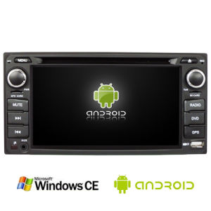 6.5inch Universal Double DIN 2DIN Car DVD Player for Toyota with Android System Ts-2650-1 pictures & photos