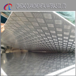 304 Black No. 4 Stainless Checquered Steel Sheet pictures & photos