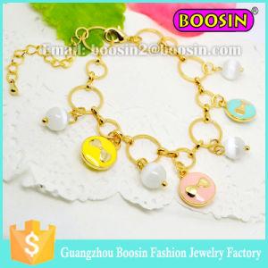 Fashion European Beautiful Beaded Bracelets/Flower Crystal Bead Stretchy Bracelet pictures & photos