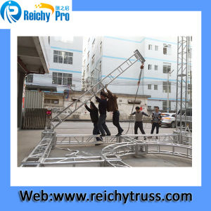 Reichy 6082-T6 400*400mm Square Exhibition Truss pictures & photos
