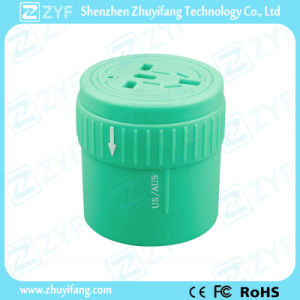 Various Colors Universal Travel Plug Adapter with Logo (ZYF9004) pictures & photos