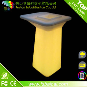 High Quality Glow Color Light LED Bar Cocktail Table pictures & photos