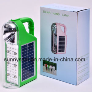 Multifunction Camping LED Solar Lantern with Solar and AC Charger pictures & photos
