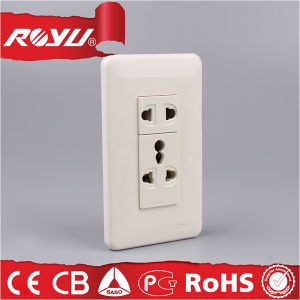 Saudi Arabia Saso Approved Electrical Outlet Multiple Socket pictures & photos