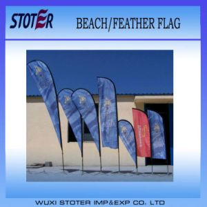 2014 Outdoor Advertising Teardrop Flag pictures & photos