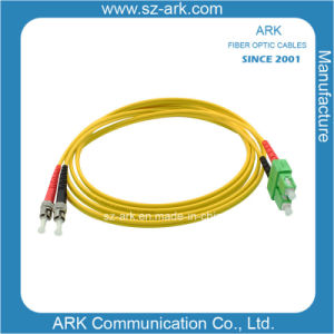 ST/PC-SC/PC Singlemode Duplex Fiber Optic Patchcord (customized length) pictures & photos