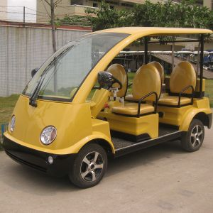 China Comfortable 4 Seats Muti-Functional Tourist Electric Vehicle (DN-4) pictures & photos