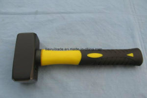 1000g German Type Stoning Hammer with TPR Handle pictures & photos